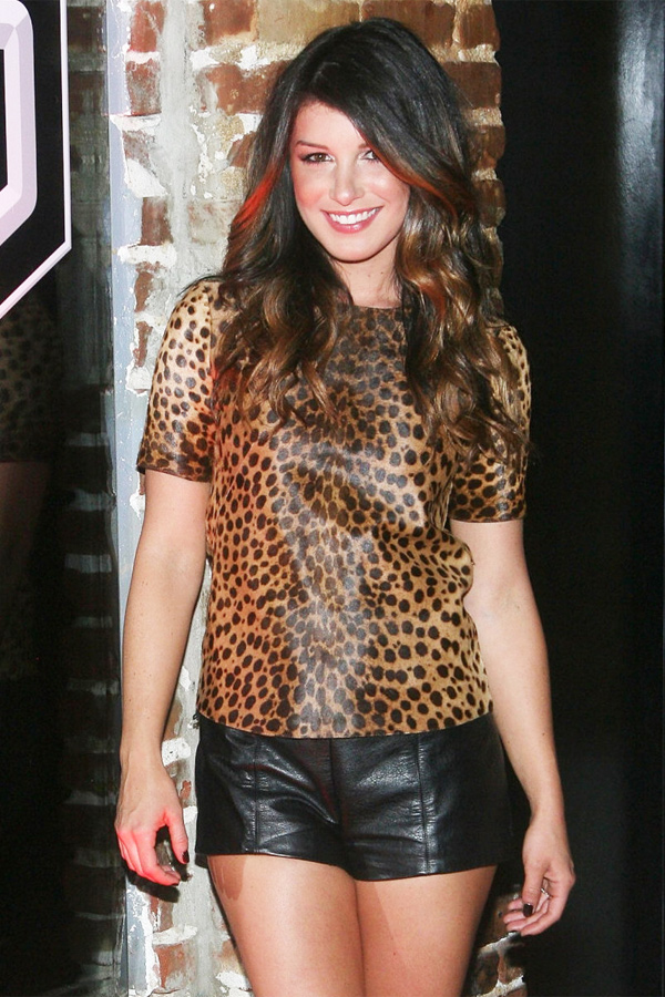 Shenae Grimes at Sleeping Dogs event