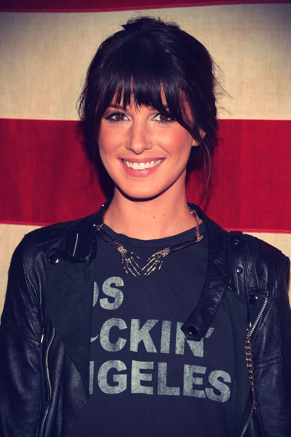Shenae Grimes attends the Nylon Magazine Celebration of America The Issue