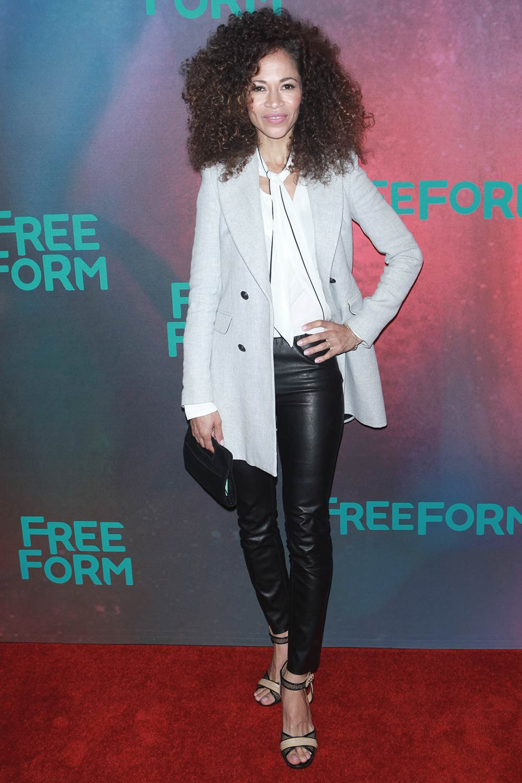 Sherri Saum attends The Freeform Upfront 2017