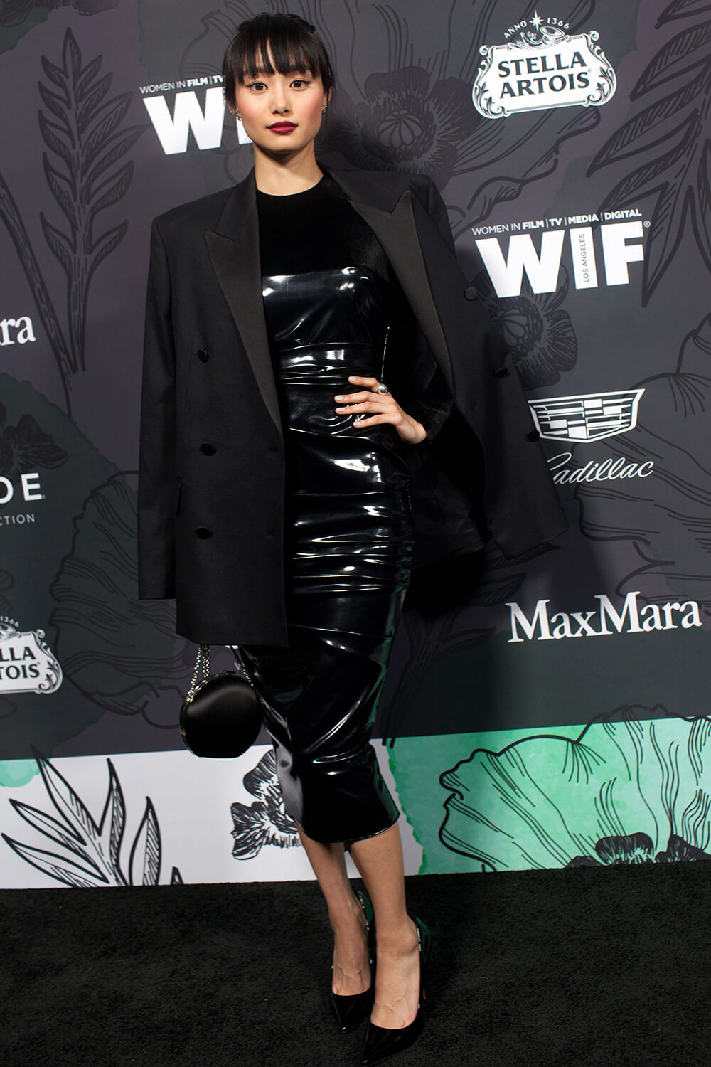 Shioli Kutsuna at Women in Film Oscar Nominee Party