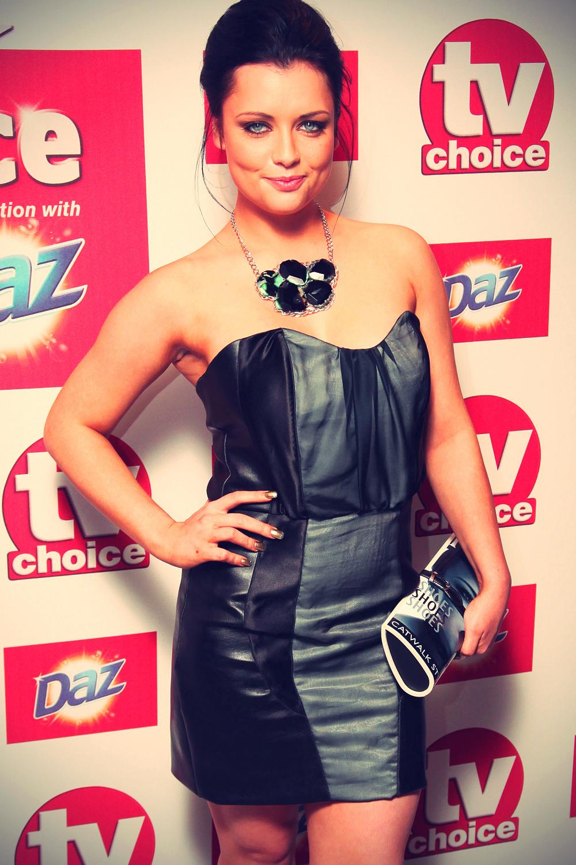 Shona McGarty at TV Choice Awards