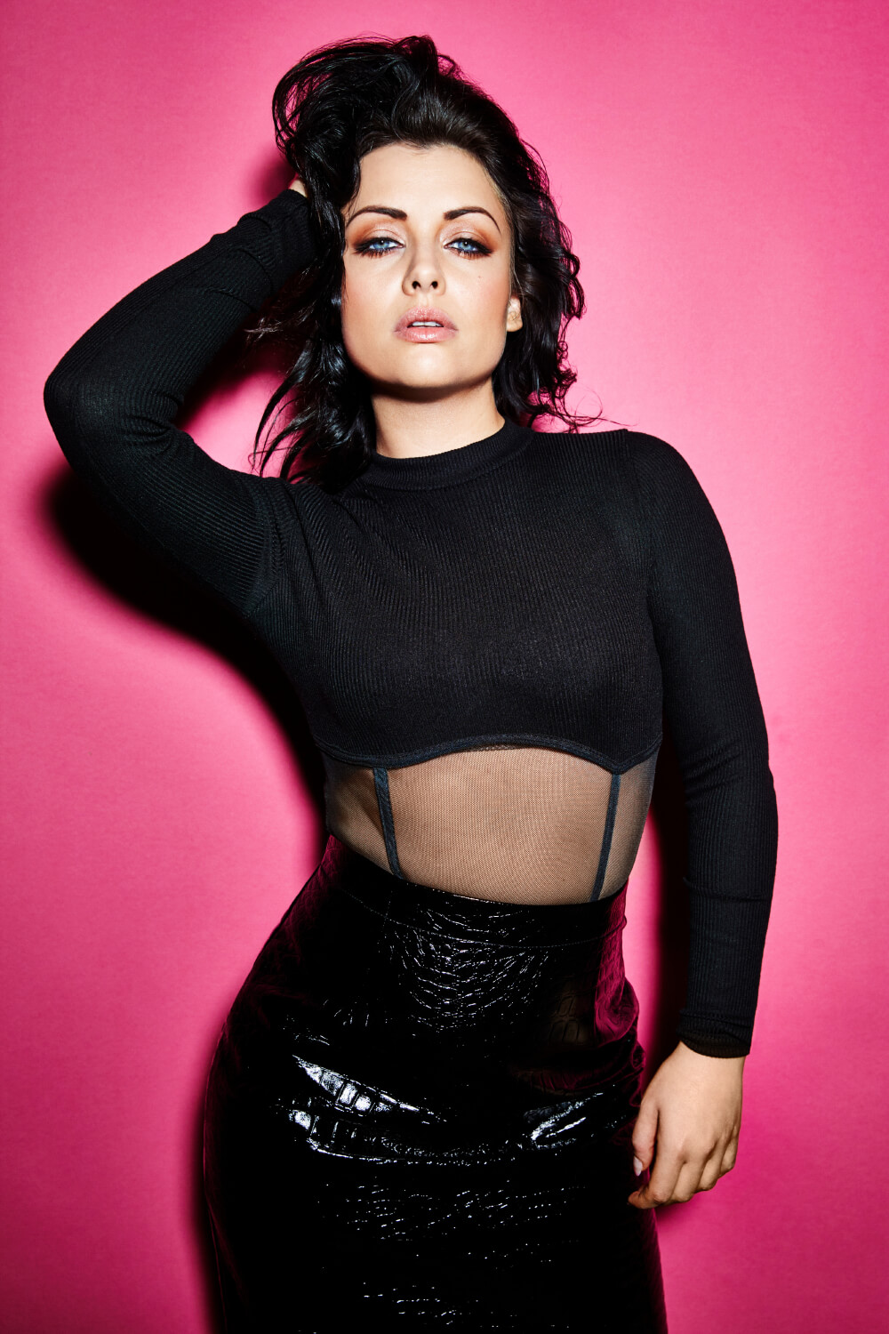 Shona McGarty - Mark Hayman Photoshoot February 2020