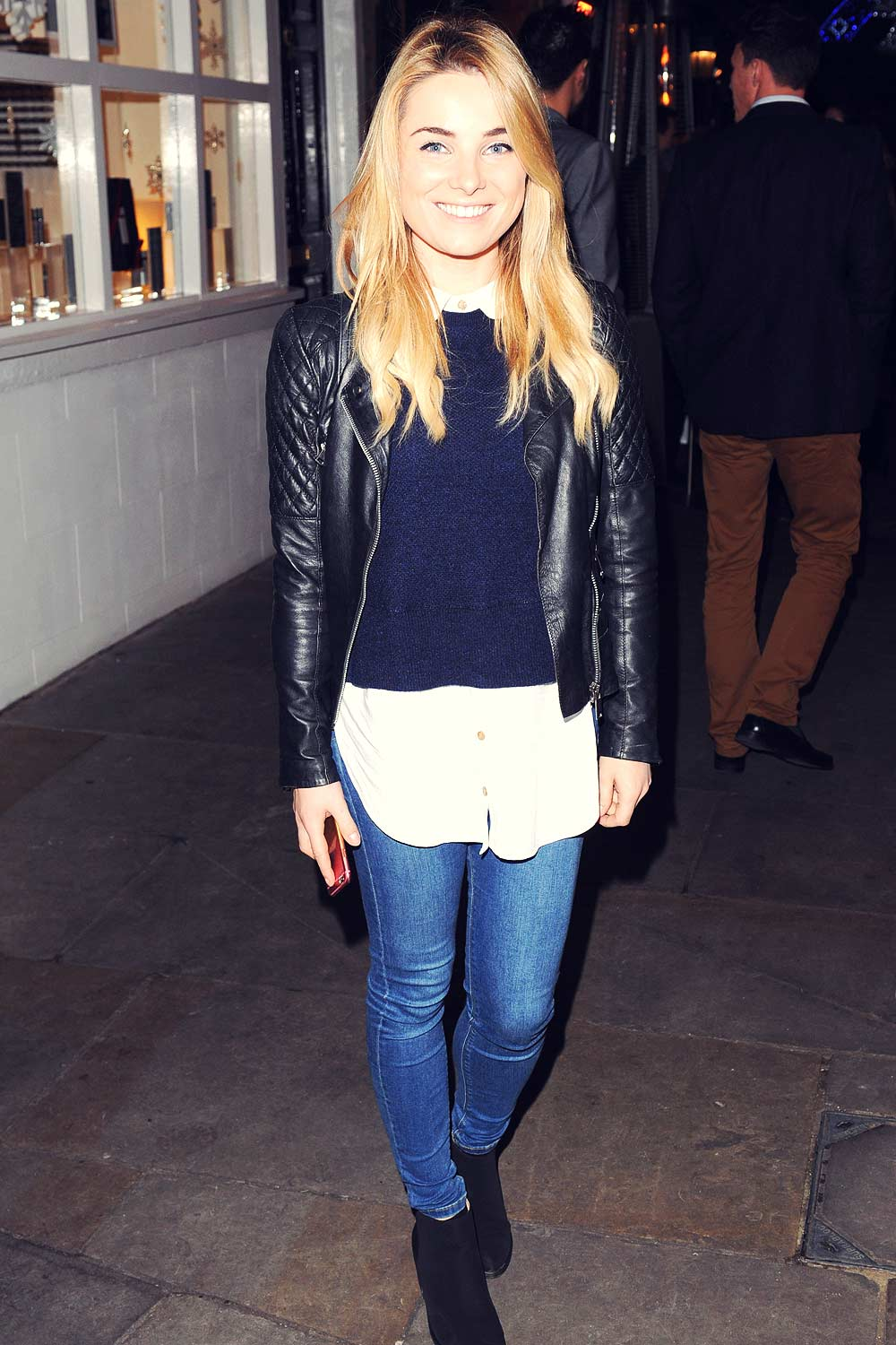 Sian Welby attended the Metro's Guilty Pleasures Christmas Party