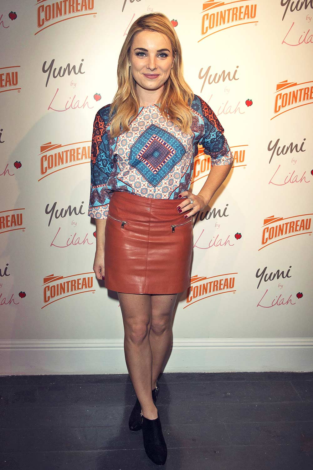 Sian Welby attends the Cointreau launch party for Yumi By Lilah SS 2016 collection