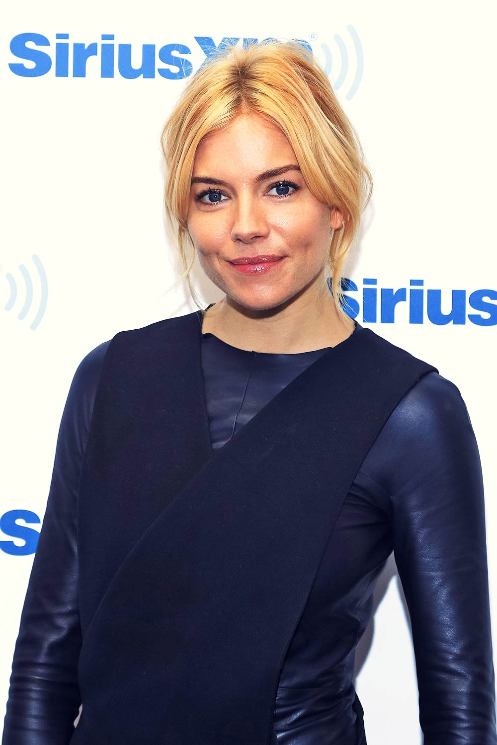Sienna Miller at SiriusXM studios in NYC