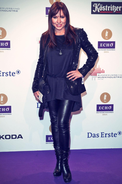 Simone Thomalla attends the Echo award 2014
