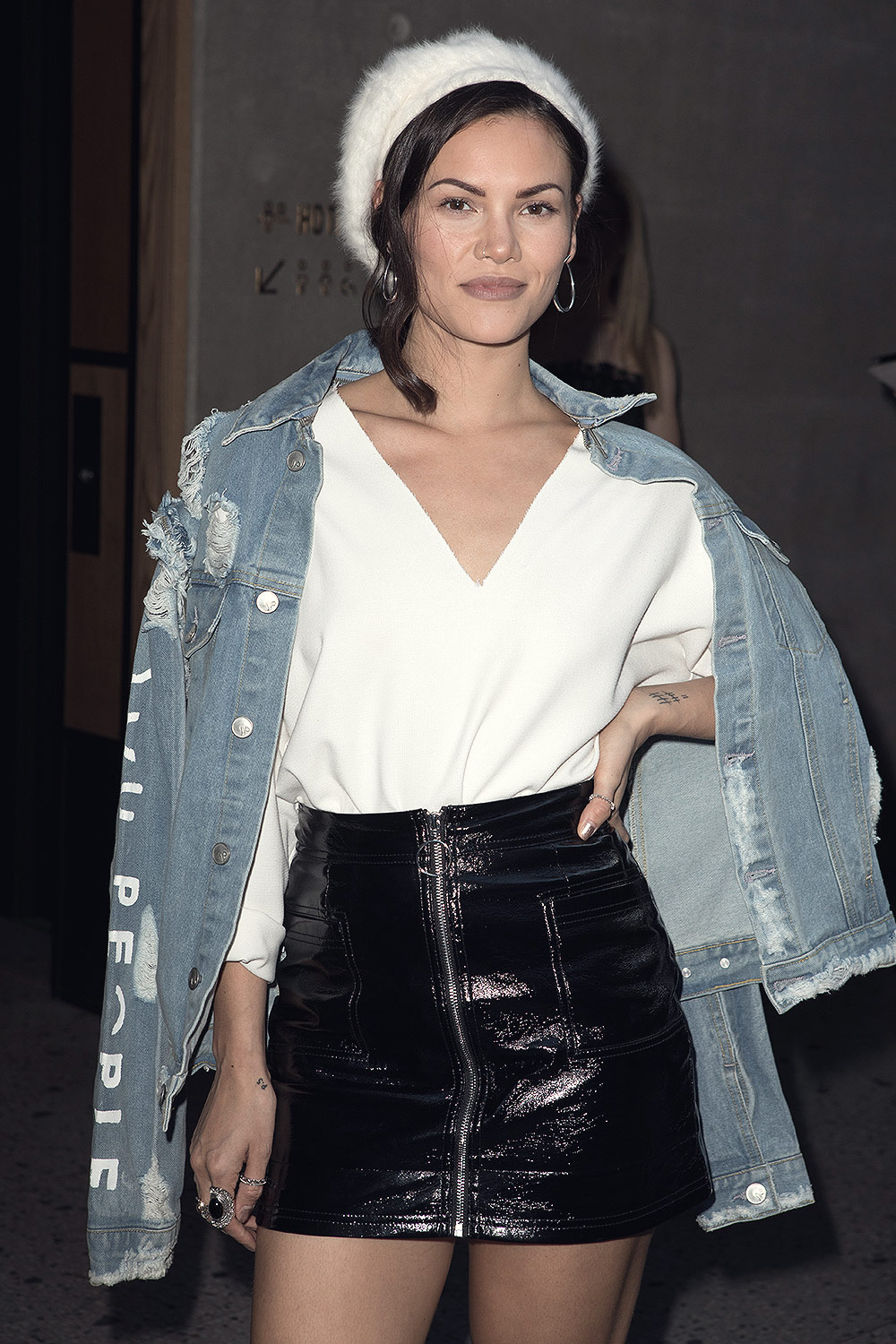 Nobu Hotel Shoreditch: Sinead Harnett Attends Nobu Hotel Shoreditch Launch Party