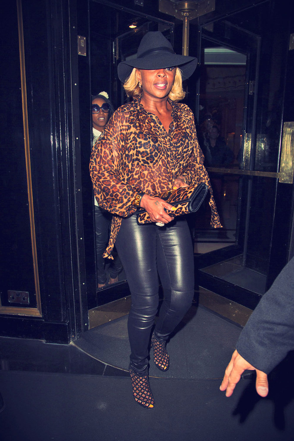 Mary J. Blige at the Chime For Change: The Sound Of Change