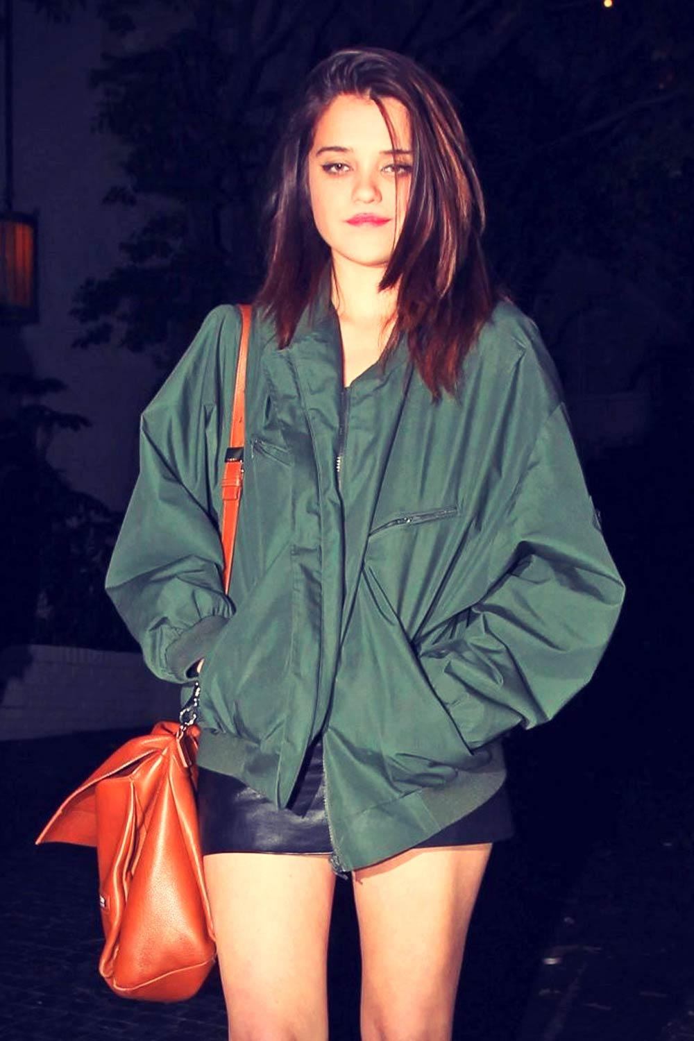 Sky Ferreira night out at Chateau Marmont