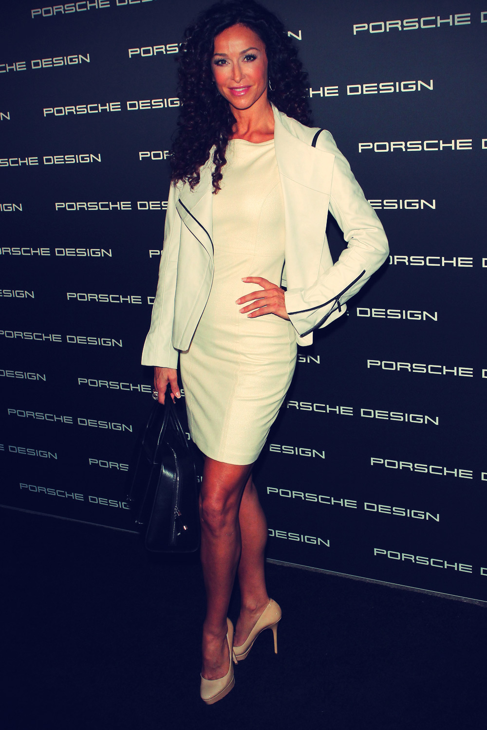 Sofia Milos at Porsche Designs 40th anniversary Event