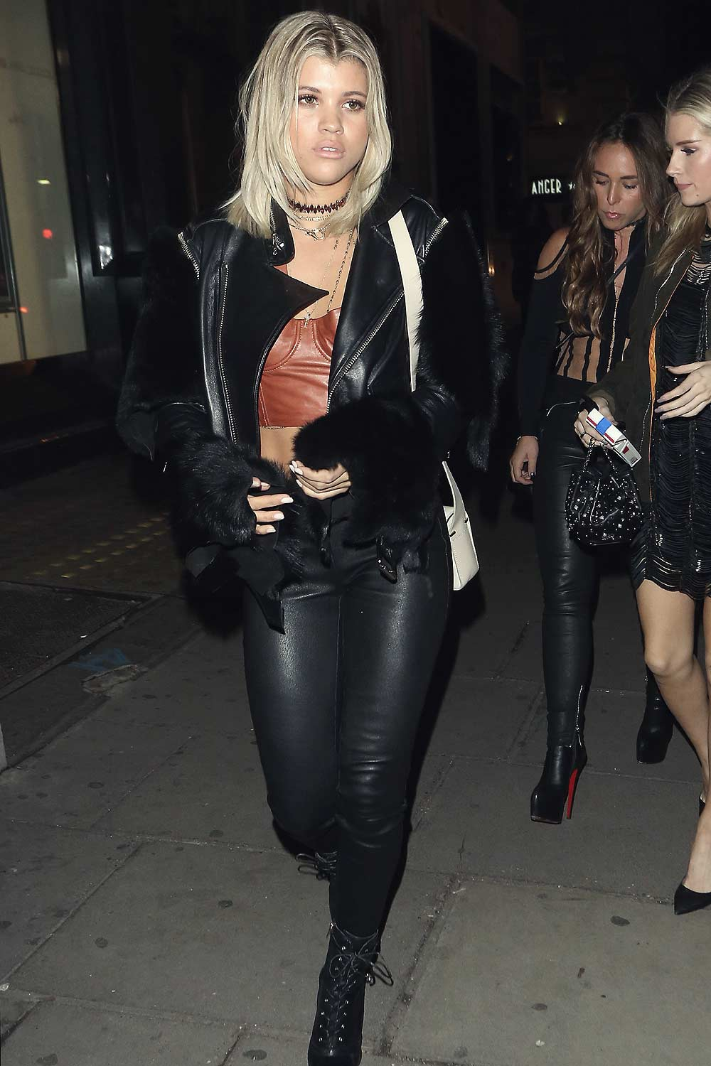 Sofia Richie at Tape Nightclub