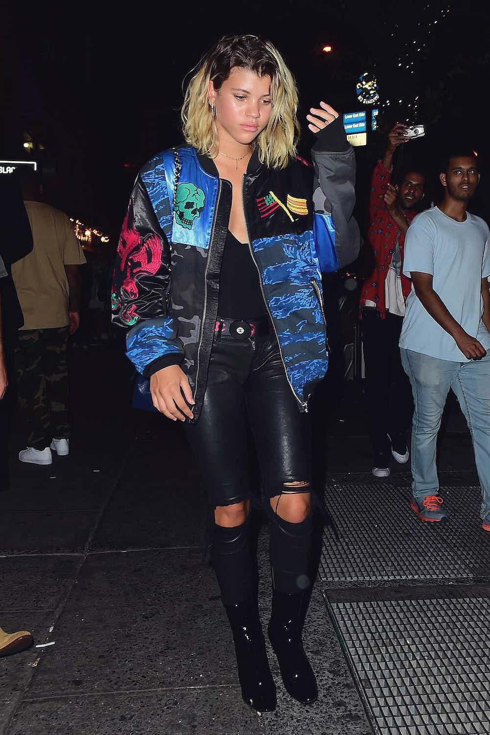 Sofia Richie out in New York City