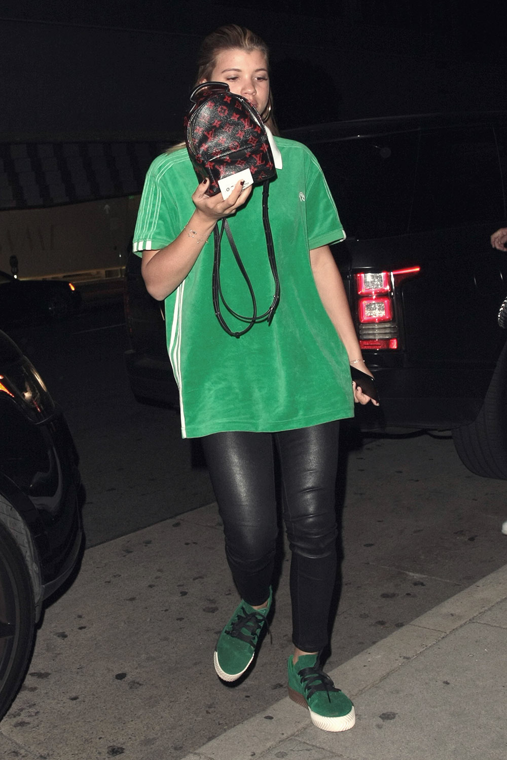 Sofia Richie seen at Mr Chow Chinese restaurant