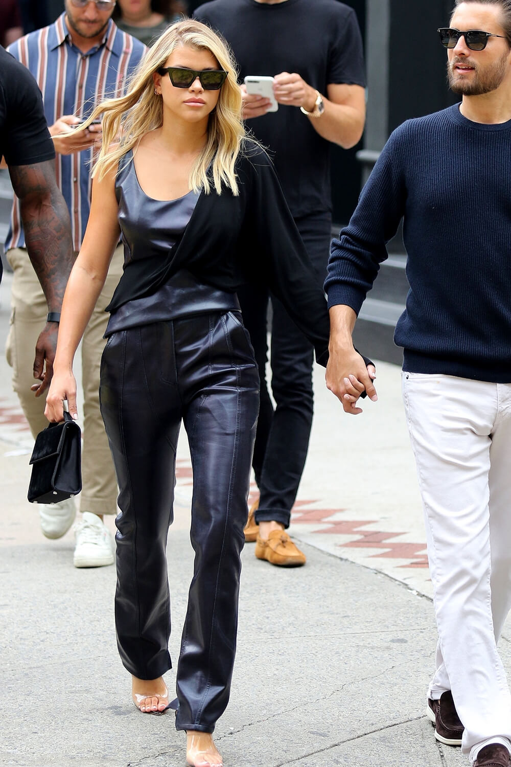Sofia Richie shopping in Manhattan's Soho