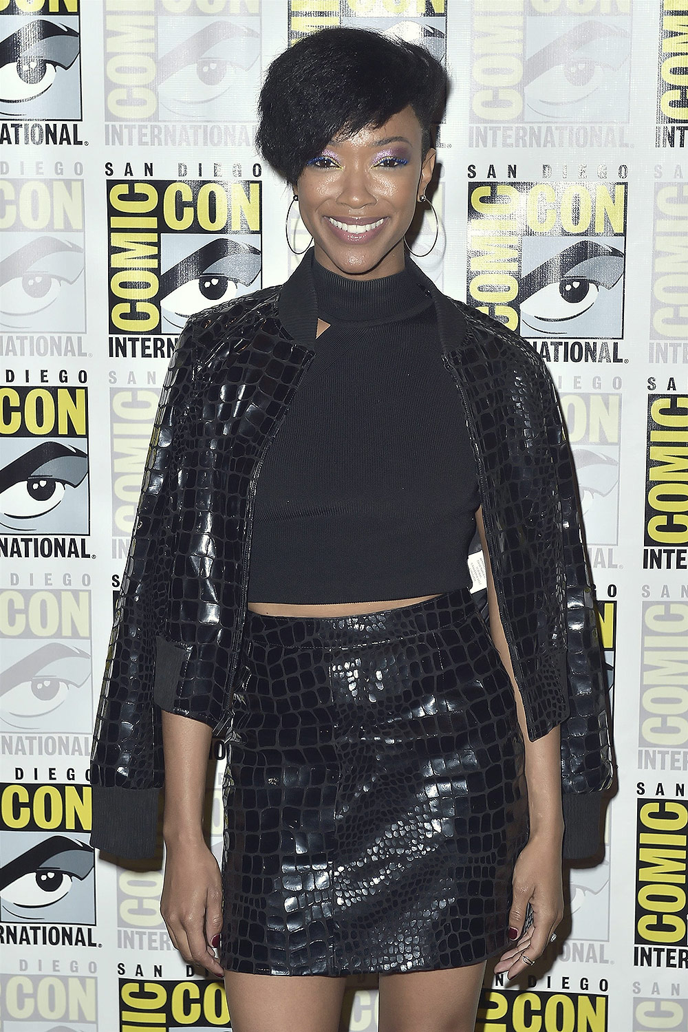 Sonequa Martin-Green attends 2018 San Diego Comic-Con Star Trek Discovery