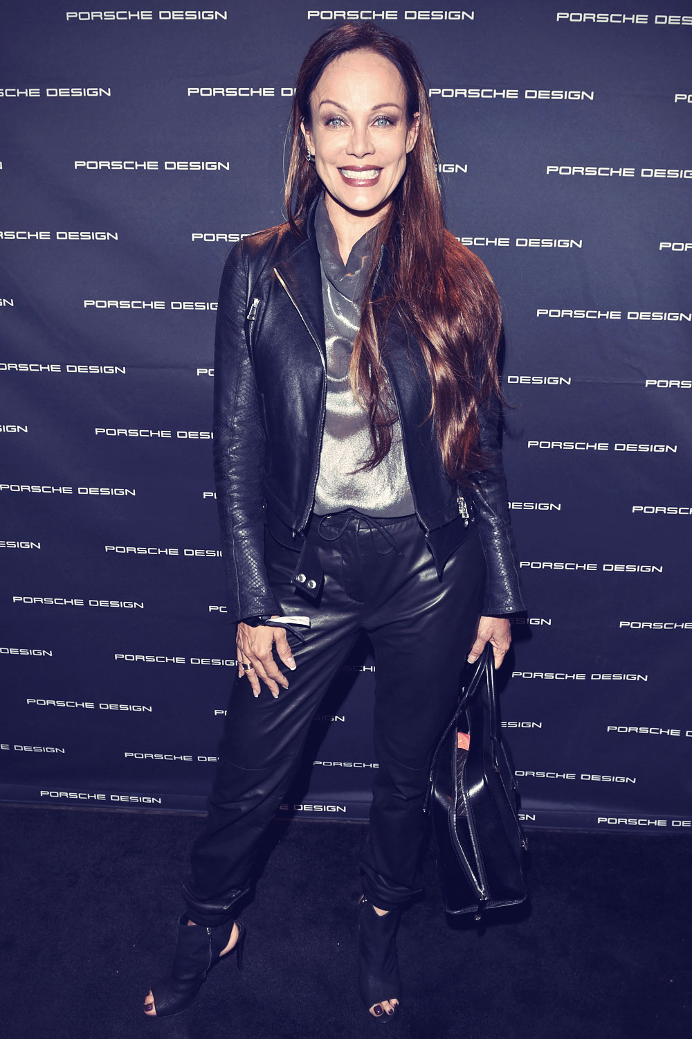 Sonja Kirchberger at to Chester Bennington for Porsche Design Launch
