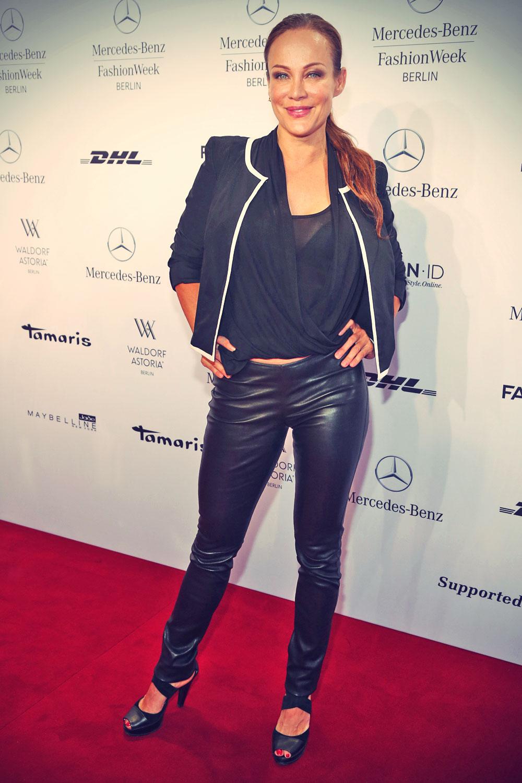 Sonja Kirchberger attends the Minx By Eva Lutz Show