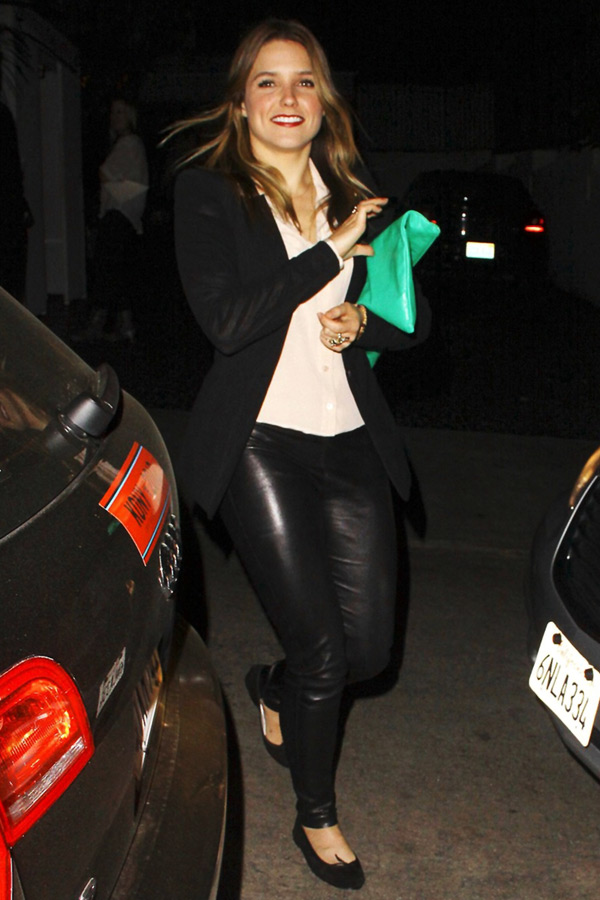 Sophia Bush at Chateau Marmont