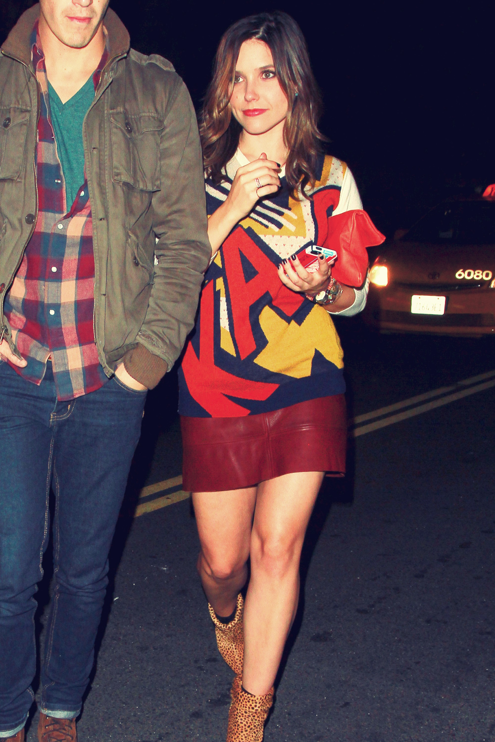 Sophia Bush at The Sayers Club