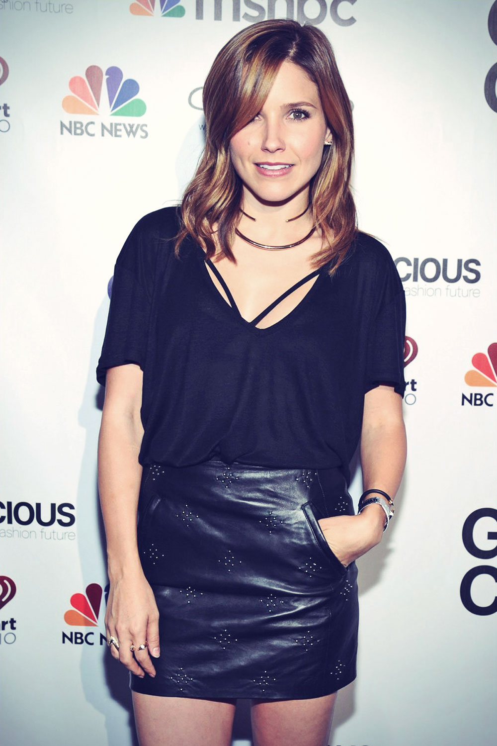 Sophia Bush attends Global Citizen Festival VIP Lounge