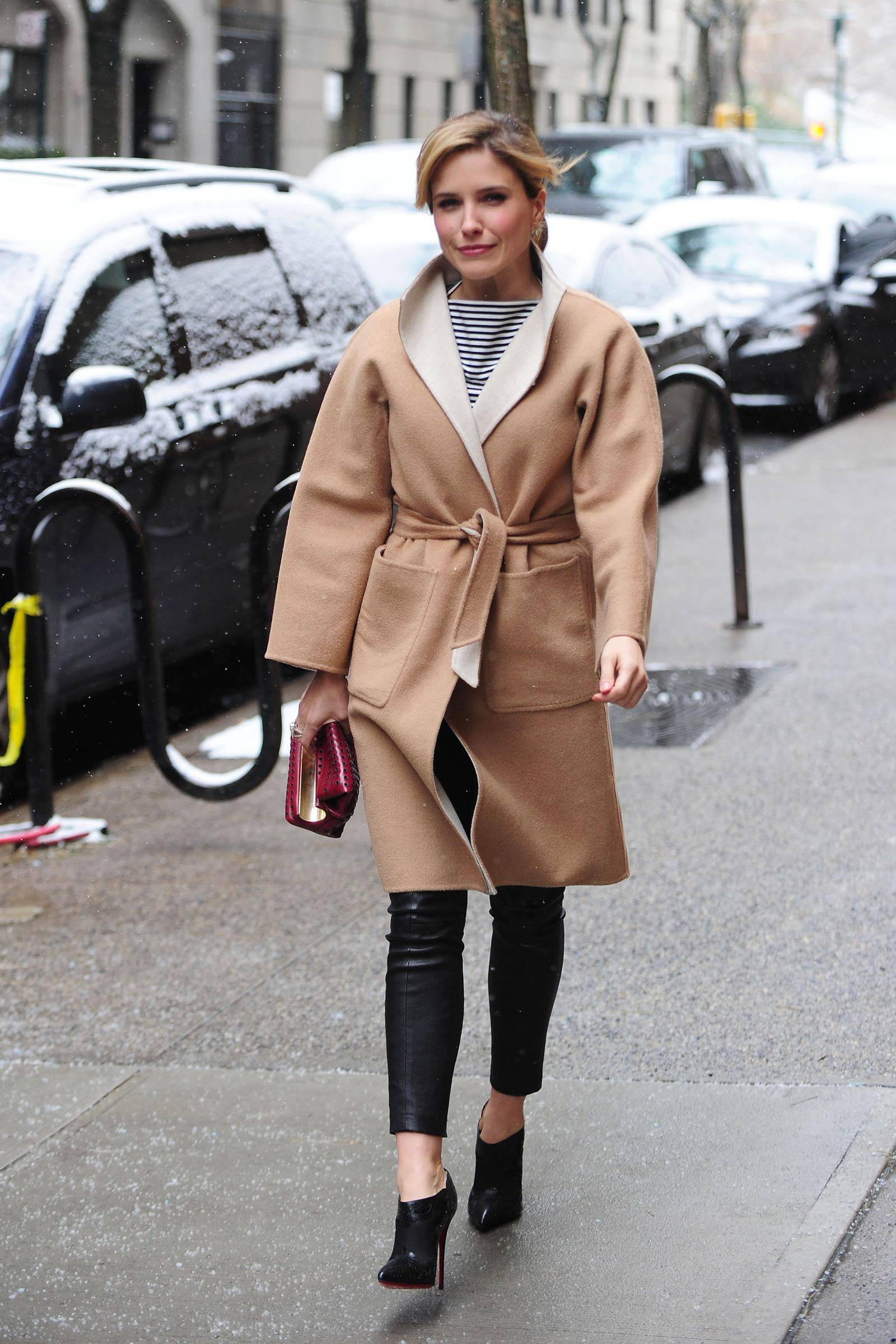 Sophia Bush out in New York City