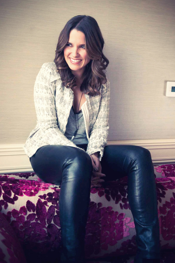Sophia Bush photoshooting for the Coveteur 2012
