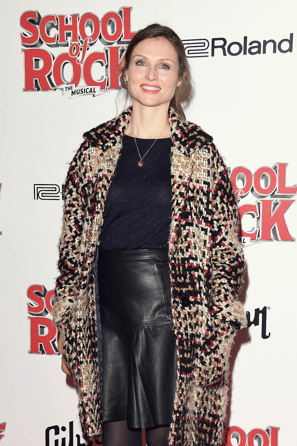Sophie Ellis-Bextor attends the opening night of 'School Of Rock The Musical'
