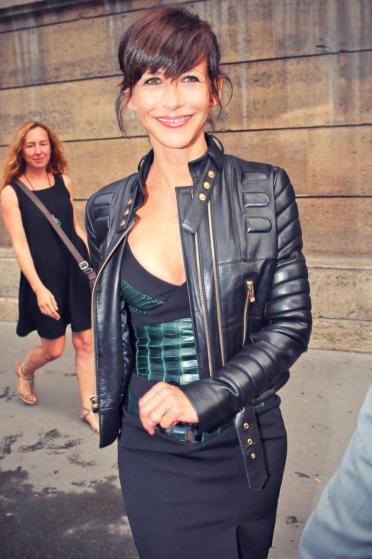 Sophie Marceau attends Alexandre Vauthier's Haute-Couture collection show