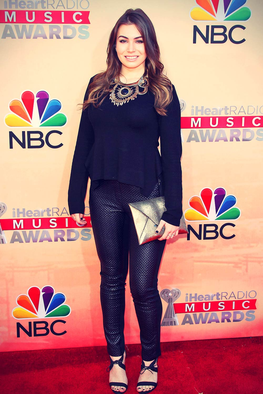 Sophie Simmons attends 2015 iHeartRadio Music Awards