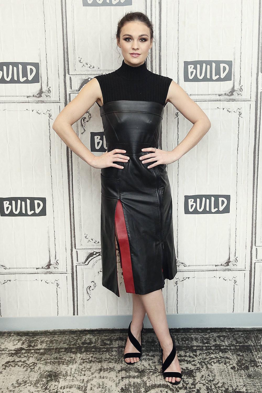 Sophie Skelton at AOL Build
