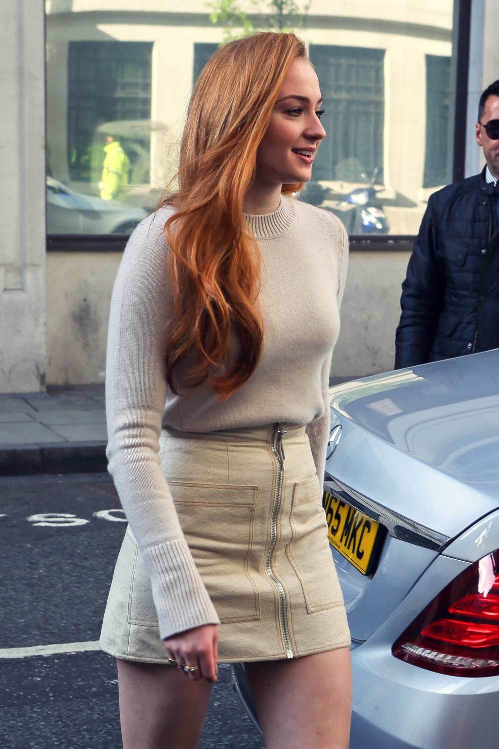 Sophie Turner out and about in London