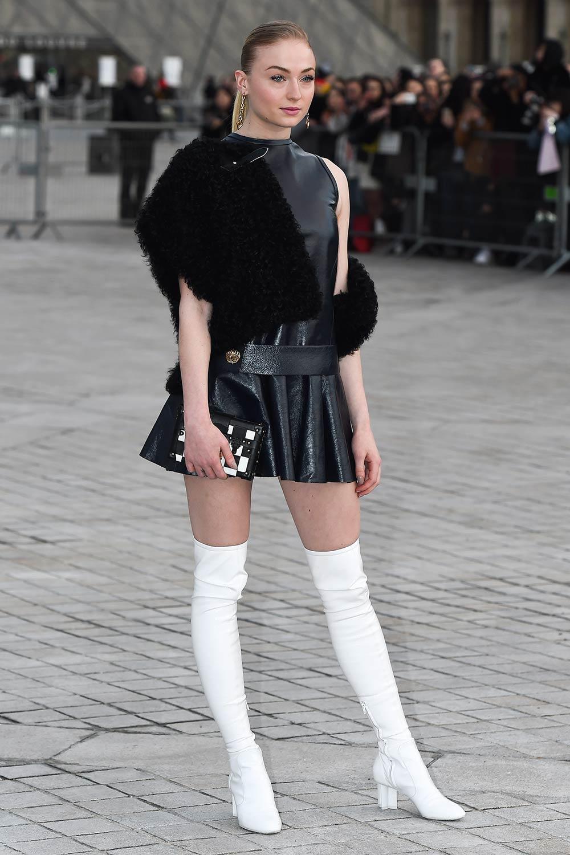 Sophie Turner attends Louis Vuitton Show