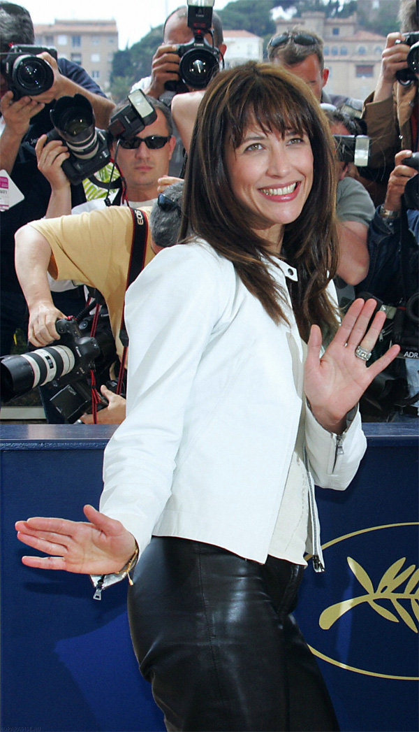 "Sophie Marceau at ""A Ce Soir"" photocall at The 57th Cannes Film Festival"