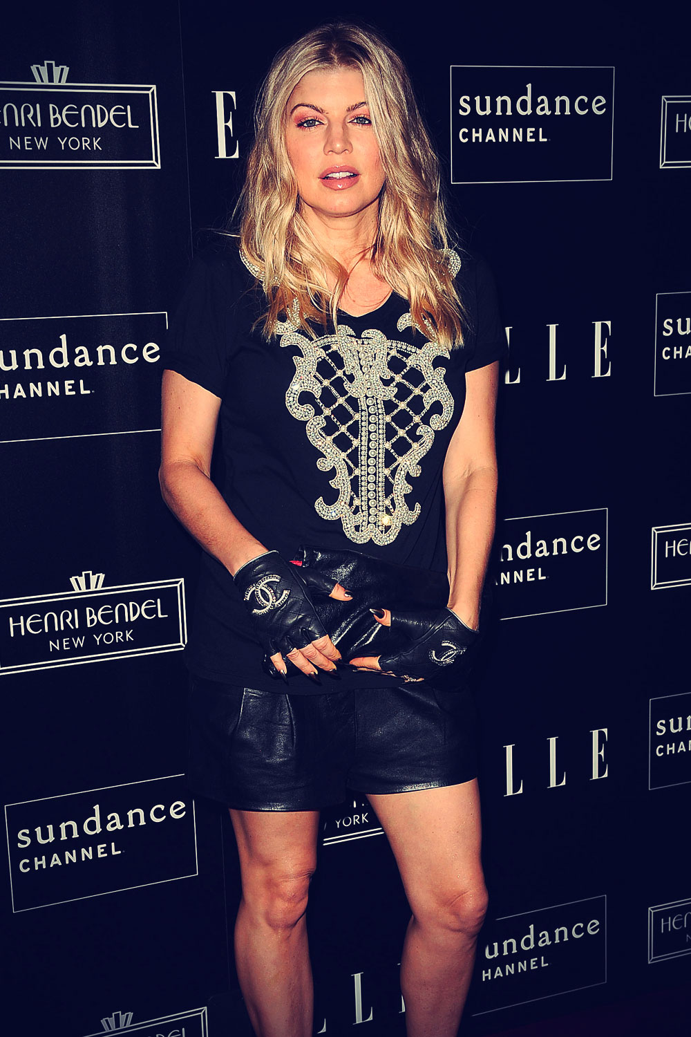 Fergie at ELLE & Sundance Channel
