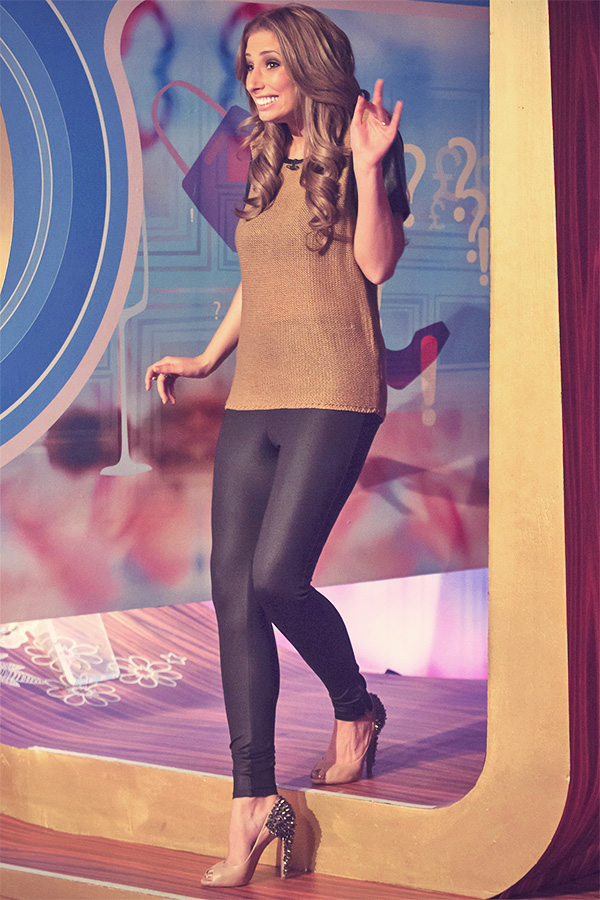 Stacey Solomon at On Loose Women