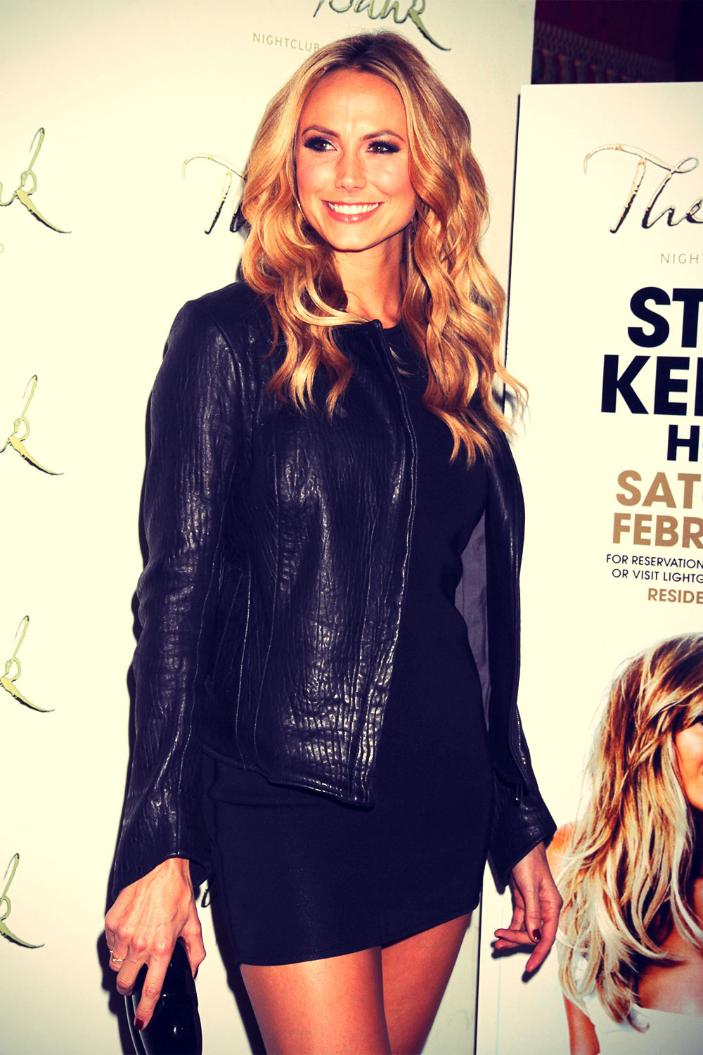 Stacy Keibler hosts at The Bank Nightclub
