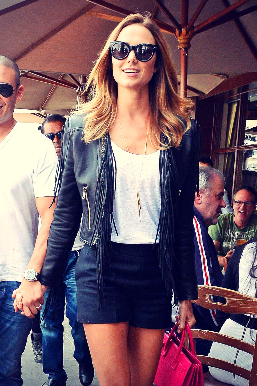 Stacy Keibler out for Lunch in LA
