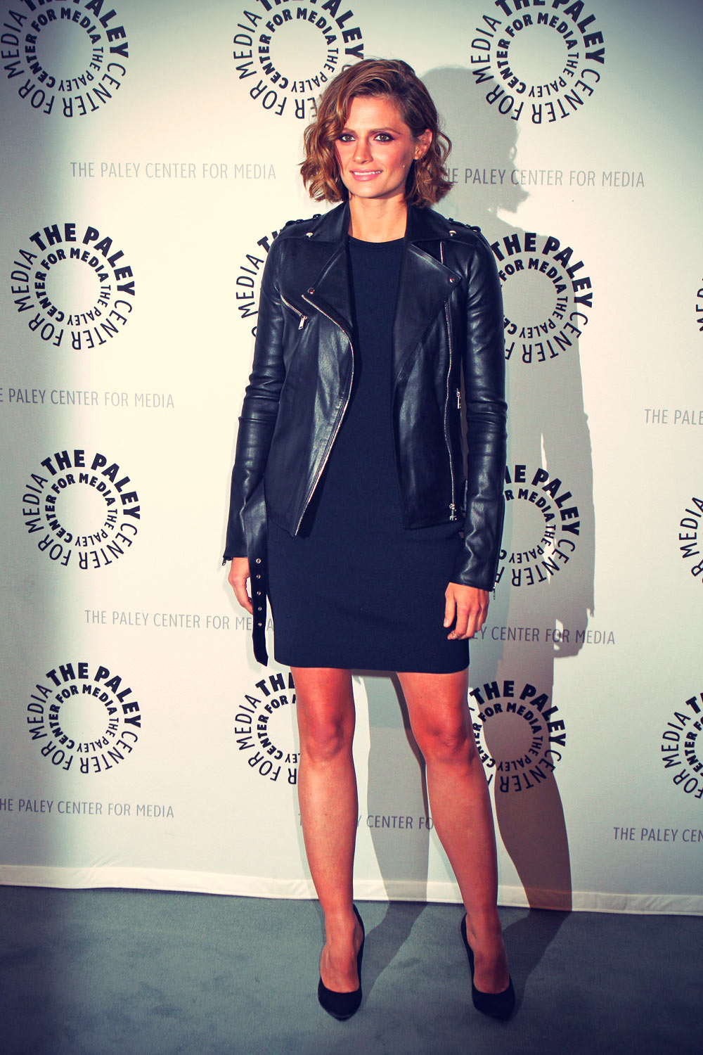 Stana Katic An Evening with Castle at the Paley Center For Media