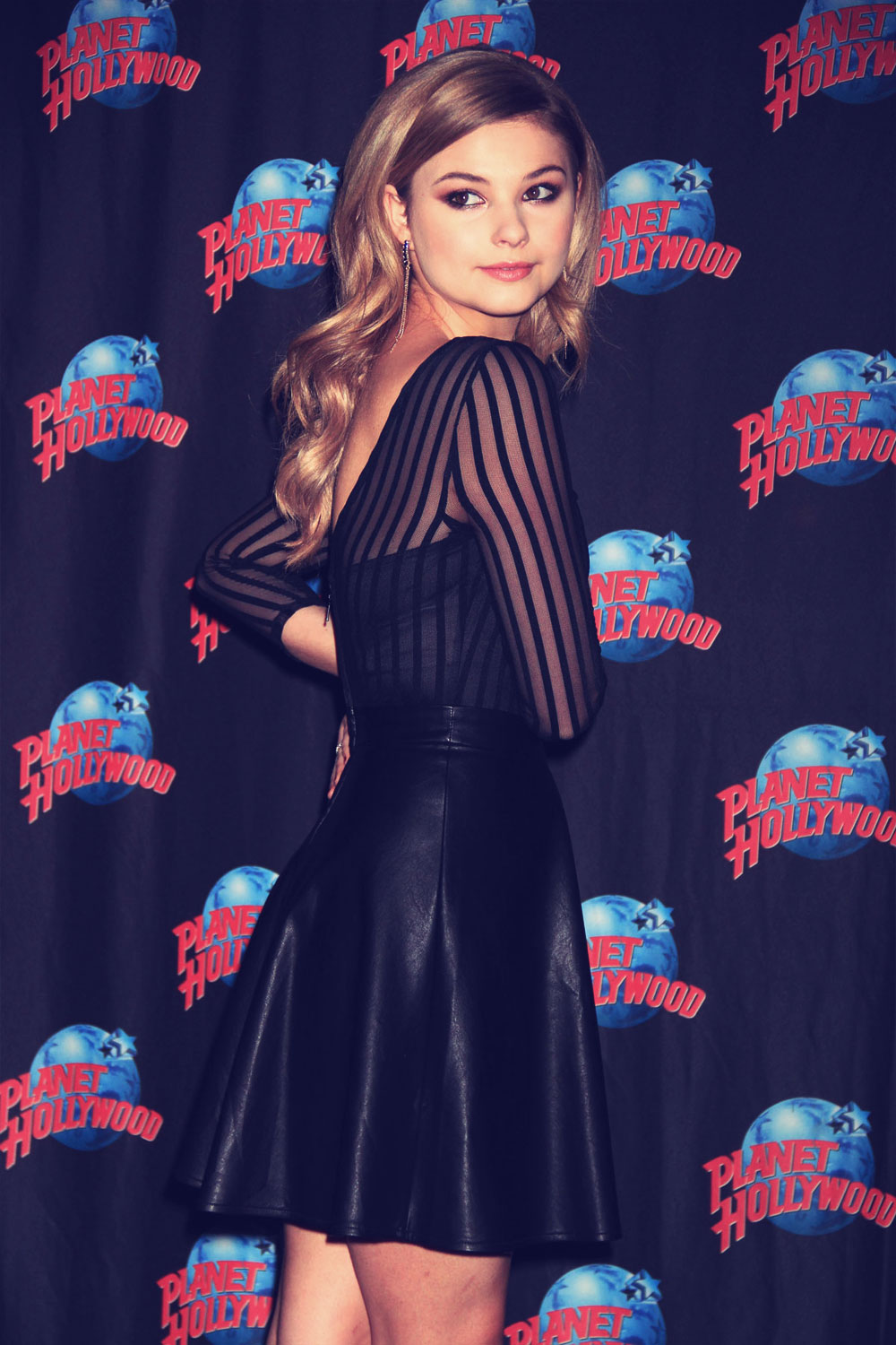 Stefanie Scott promotes her starring role in the disney channel