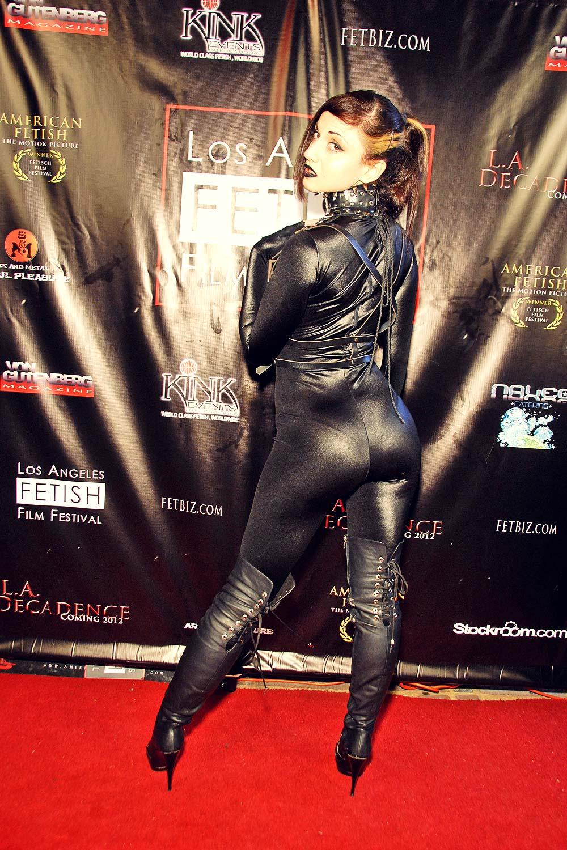 Stella Mouzi attends 2011 LA Fetish Film Festival