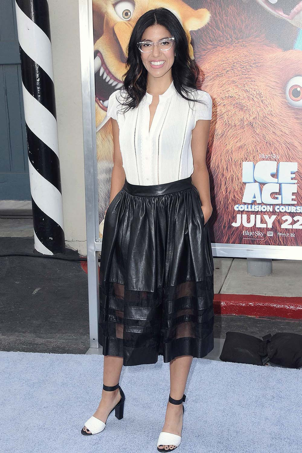 Stephanie Beatriz attends Ice Age Collision Course screening