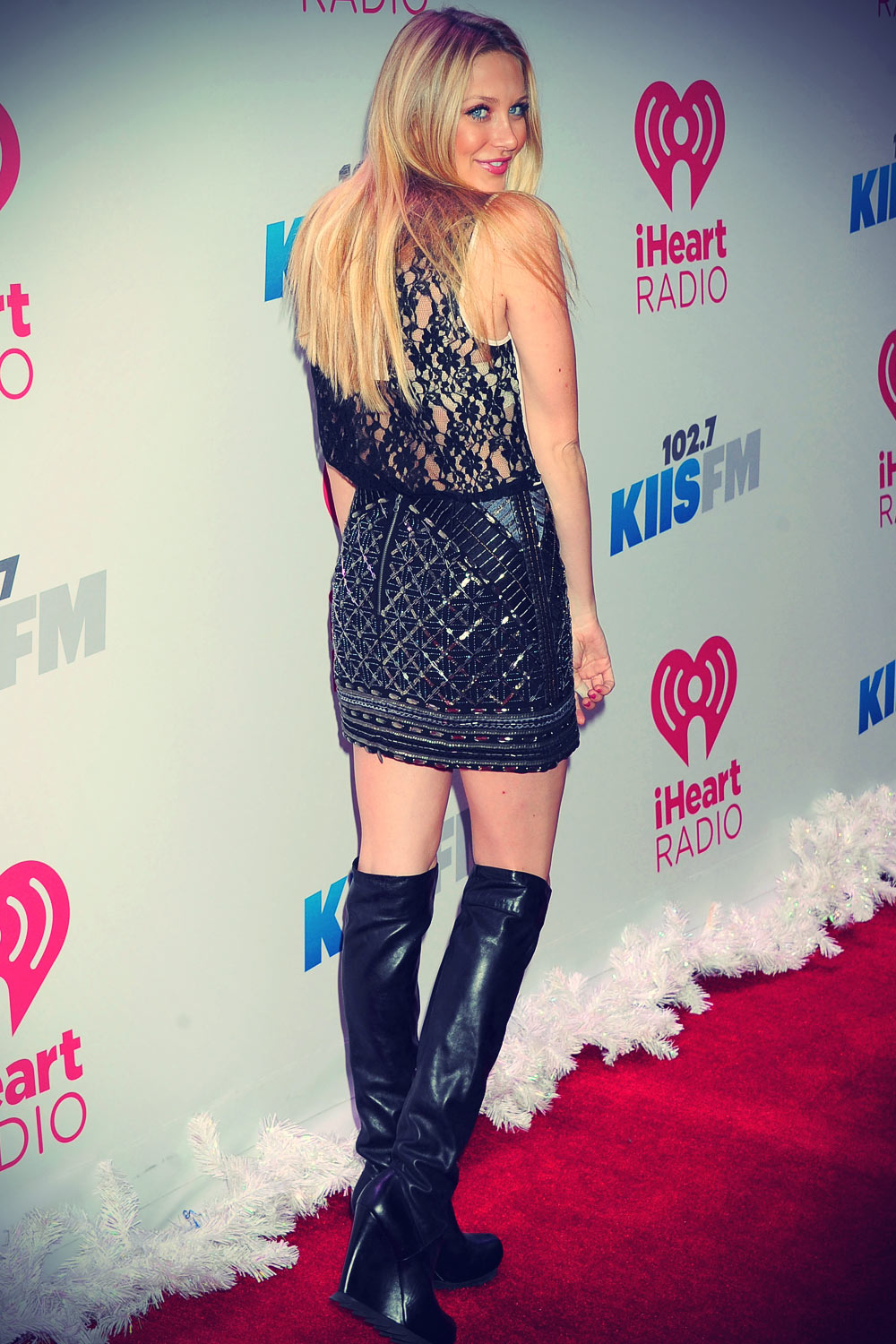 Stephanie Pratt KIIS FM's Jingle Ball 2013