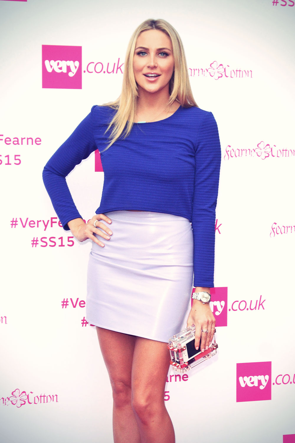 Stephanie Pratt attends Fearne Cotton's Very.co.uk Fashion Show