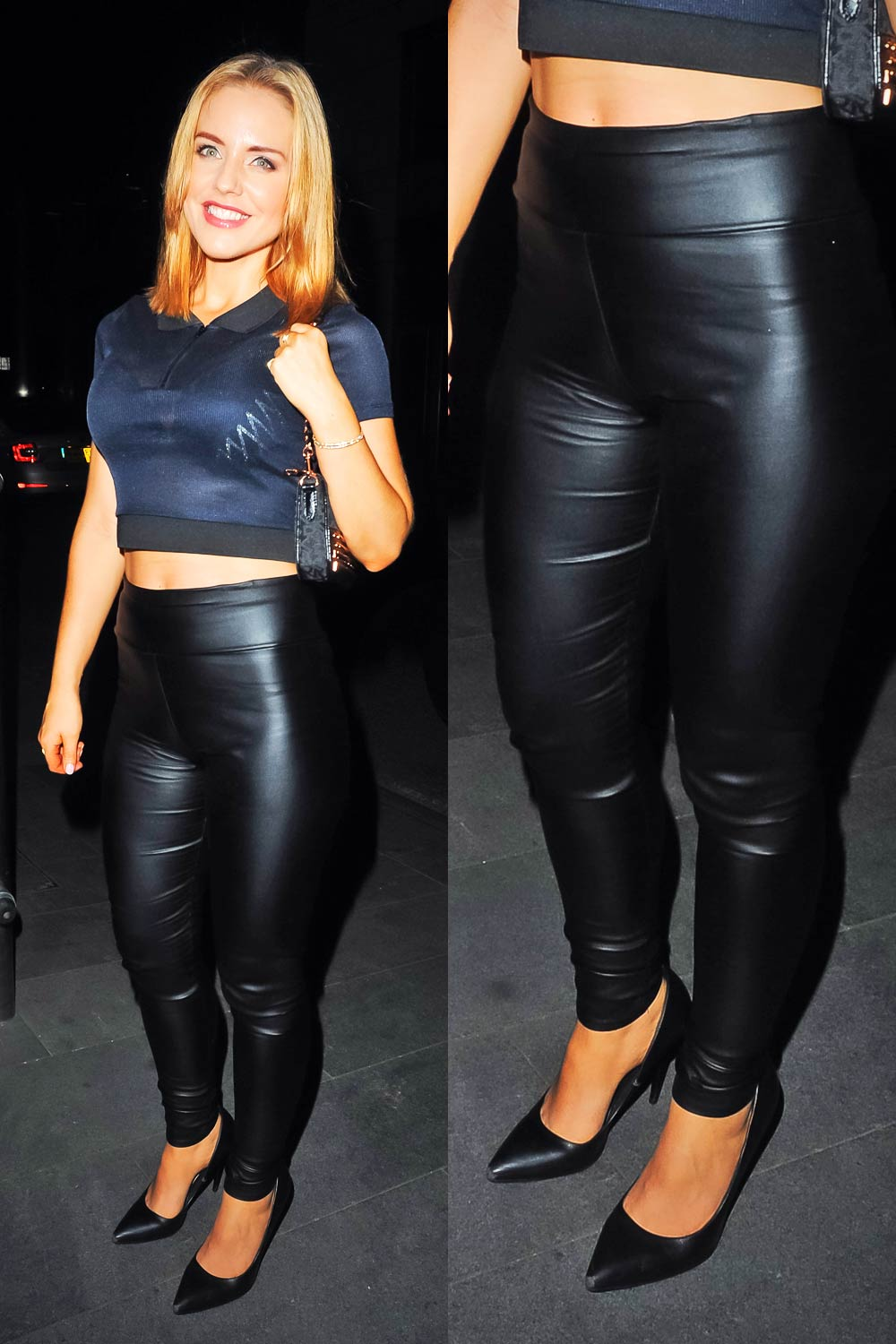 Stephanie Waring Seen Out For The Night In Manchester