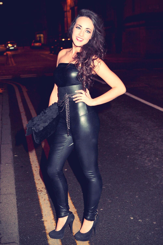 Stephanie Davis at Hollyoaks Kieron Richardson birthday