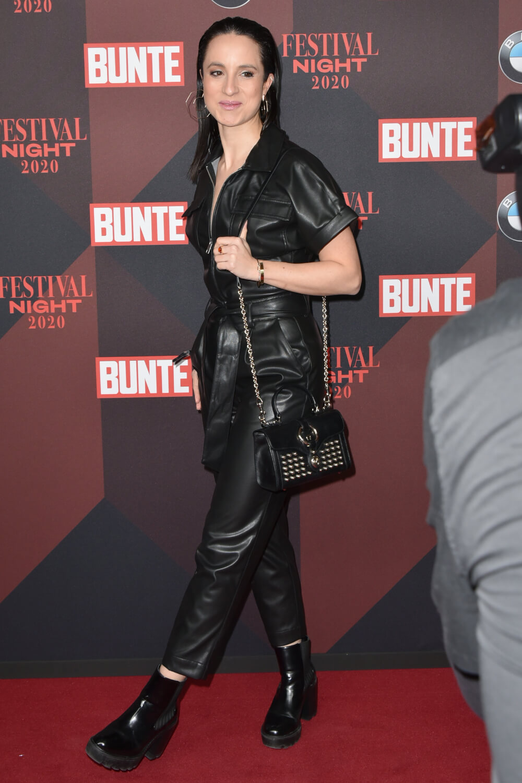 Stephanie Stumph attends Bunte & BMW Festival Night
