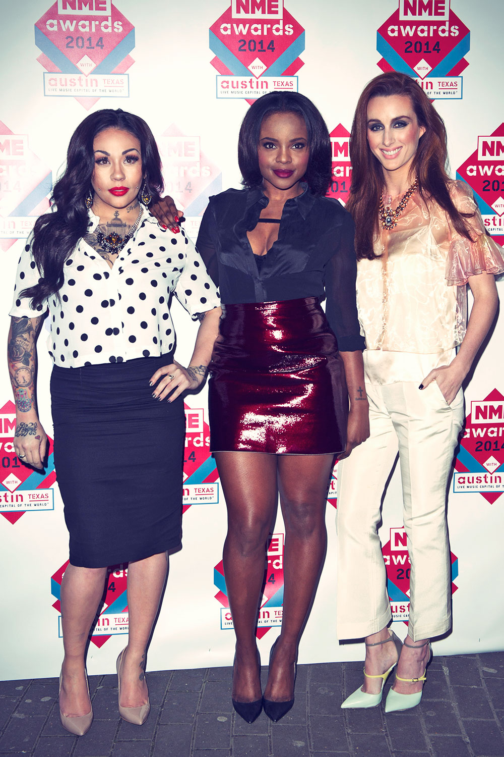 Sugababes attends NME Awards
