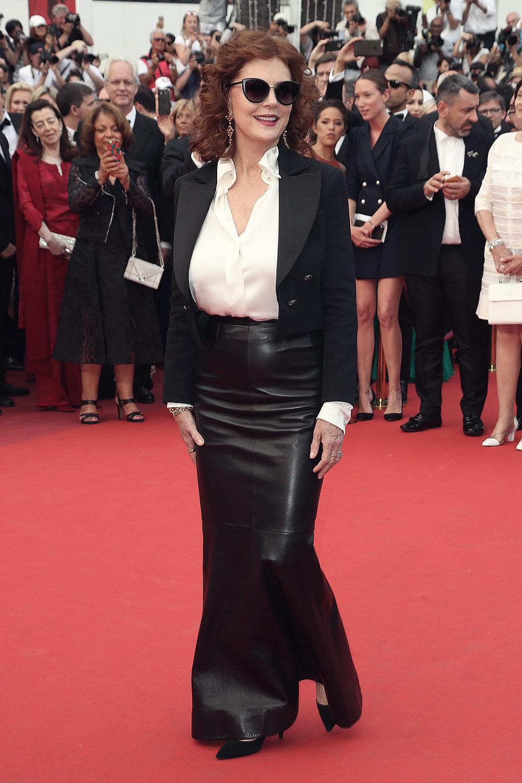 Susan Sarandon attends Loveless  premiere