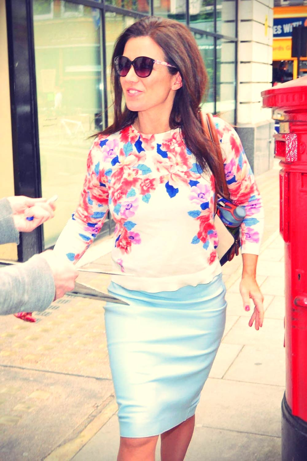 Susanna Reid at BBC Radio 2 London