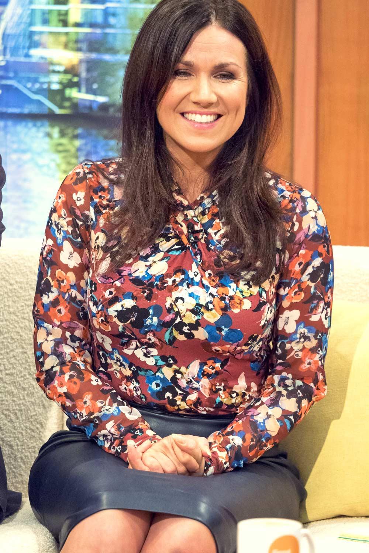 Susanna Reid at Good Morning Britain